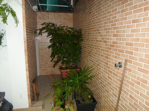 ref.: 3089 - casa condomínio fechado em sao vicente, no bairro vila valenca - 3 dormitórios