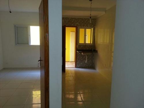 ref.: 3091 - casa condomínio fechado em praia grande, no bairro melvi - 2 dormitórios