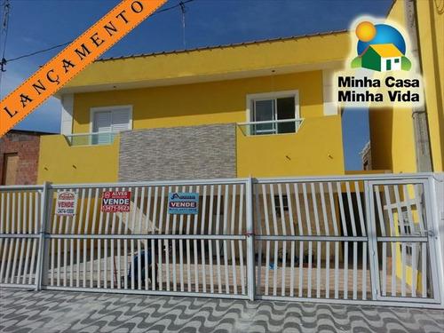 ref.: 3093 - casa condomínio fechado em praia grande, no bairro melvi - 1 dormitórios