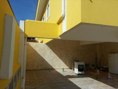 ref.: 3094 - casa condomínio fechado em praia grande, no bairro melvi - 1 dormitórios