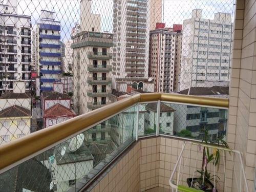 ref.: 3105 - apartamento em praia grande, no bairro guilhermina - 2 dormitórios