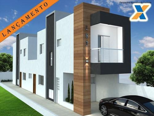 ref.: 3118 - casa condomínio fechado em praia grande, no bairro sitio do campo - 2 dormitórios