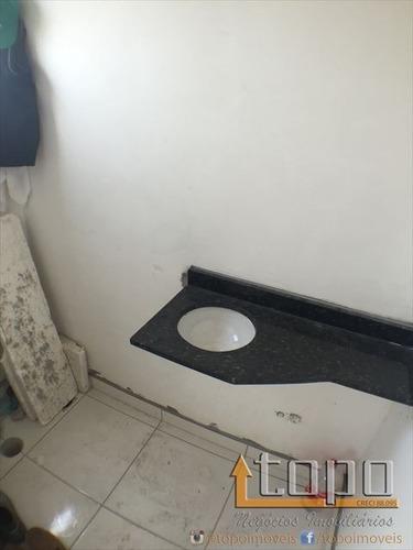 ref.: 3126 - casa condomínio fechado em praia grande, no bairro aviacao - 2 dormitórios