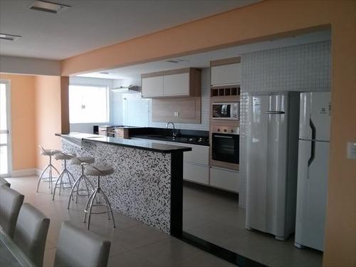 ref.: 3129 - apartamento em praia grande, no bairro guilhermina - 3 dormitórios