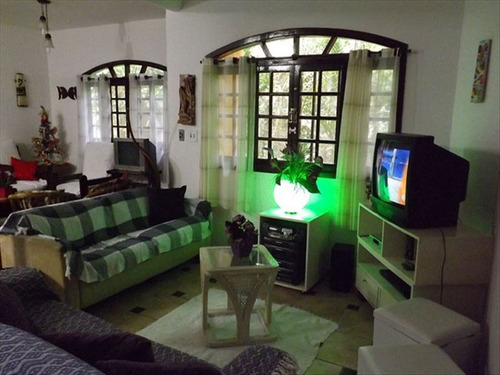 ref.: 313 - casa condomínio fechado em bertioga, no bairro guaratuba costa do sol - 5 dormitórios