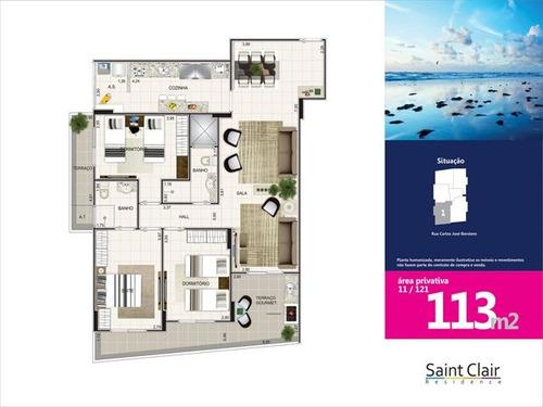 ref.: 3131 - apartamento em praia grande, no bairro aviacao - 3 dormitórios