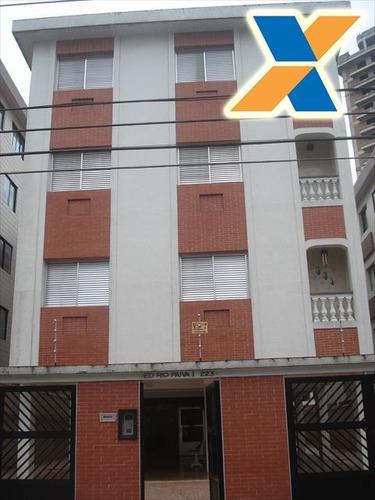 ref.: 3143 - apartamento em praia grande, no bairro guilhermina - 2 dormitórios