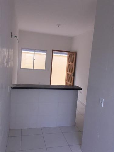 ref.: 3162 - casa condomínio fechado em praia grande, no bairro princesa - 2 dormitórios