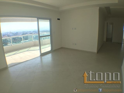 ref.: 3173 - apartamento em praia grande, no bairro guilhermina - 3 dormitórios