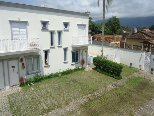 ref.: 318 - casa condomínio fechado em bertioga, no bairro centro - 3 dormitórios