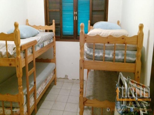ref.: 3185 - casa em praia grande, no bairro canto do forte - 2 dormitórios