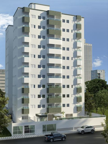 ref.: 3188 - apartamento em praia grande, no bairro guilhermina - 2 dormitórios