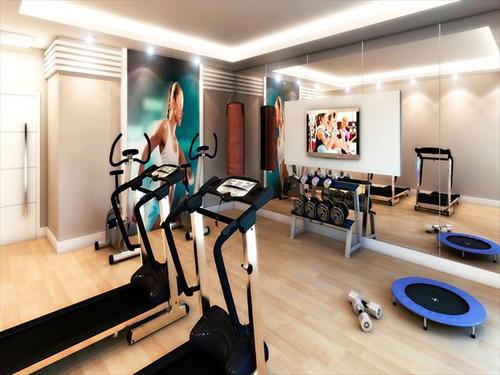 ref.: 3193 - apartamento em praia grande, no bairro ocian - 2 dormitórios