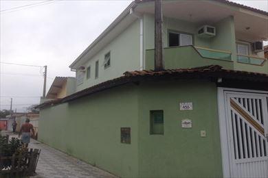 ref.: 3197 - casa em praia grande, no bairro canto do forte - 2 dormitórios