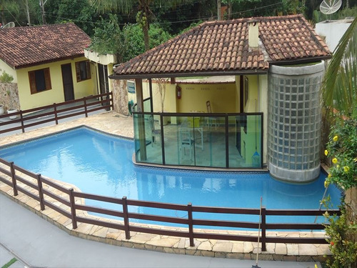 ref.: 321 - casa condomínio fechado em bertioga, no bairro guaratuba costa do sol - 2 dormitórios
