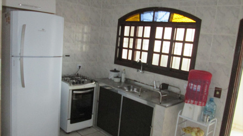 ref.: 32100 - casa em itanhaém, no bairro cibratel 2 - 4 dormitórios