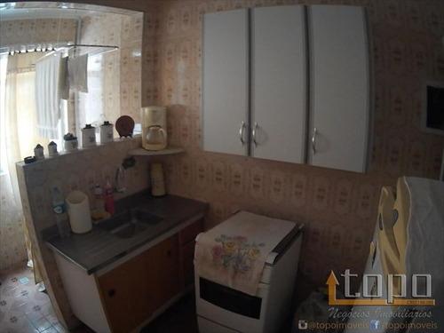 ref.: 3213 - apartamento em praia grande, no bairro boqueirao - 2 dormitórios