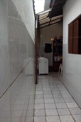 ref.: 3215 - casa em praia grande, no bairro boqueirão - 2 dormitórios