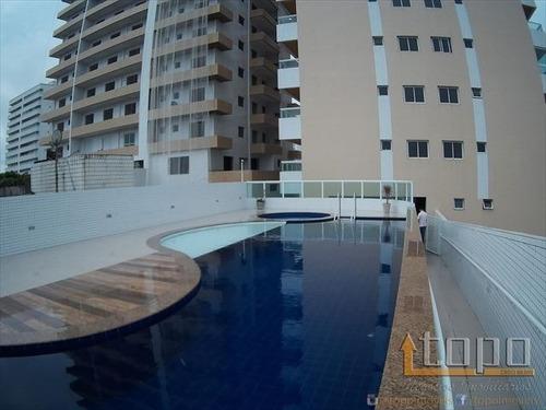 ref.: 3223 - apartamento em praia grande, no bairro guilhermina - 2 dormitórios