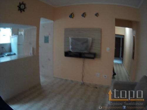 ref.: 3229 - apartamento em praia grande, no bairro caicara - 1 dormitórios