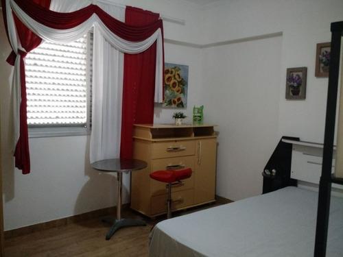 ref.: 3229 - apartamento em praia grande, no bairro mirim - 2 dormitórios