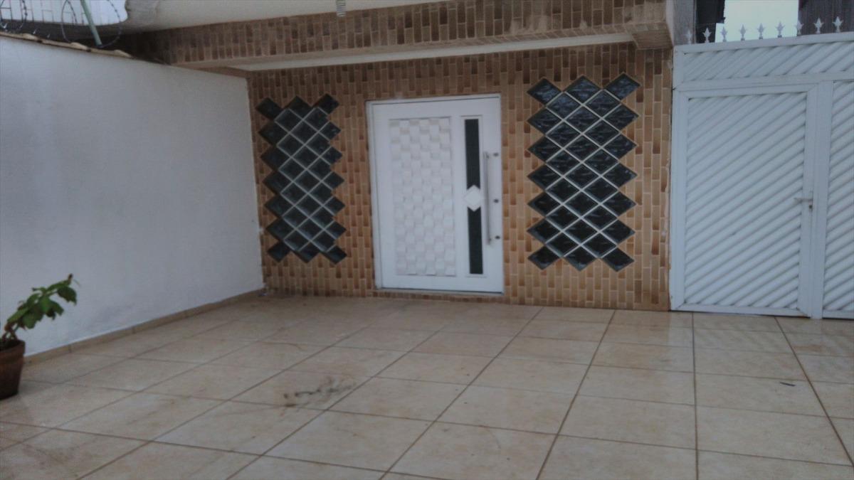 ref.: 323 - casa em praia grande, no bairro guilhermina - 3 dormitórios