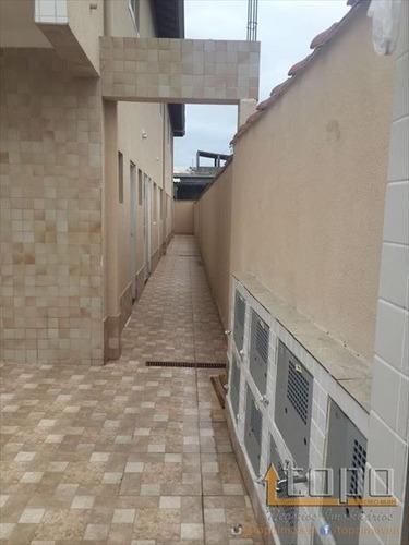 ref.: 3234 - casa condomínio fechado em praia grande, no bairro samambaia - 2 dormitórios