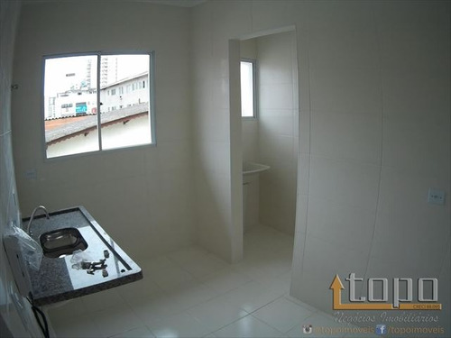 ref.: 3238 - casa condomínio fechado em praia grande, no bairro tupi - 2 dormitórios