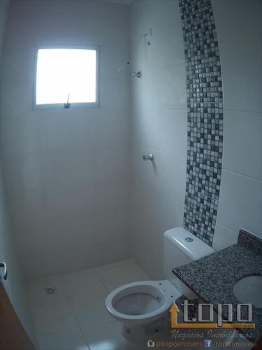 ref.: 3239 - casa condomínio fechado em praia grande, no bairro tupi - 2 dormitórios