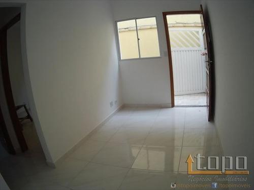 ref.: 3241 - casa condomínio fechado em praia grande, no bairro tupi - 2 dormitórios