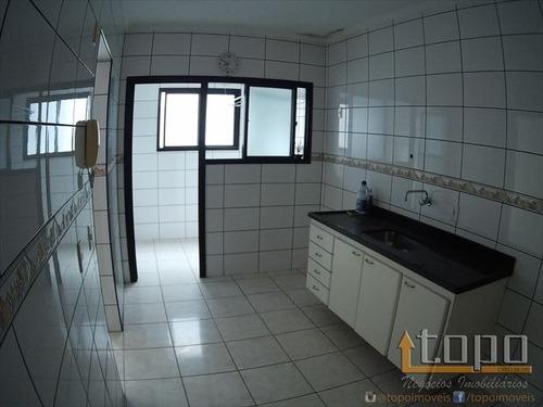 ref.: 3245 - apartamento em praia grande, no bairro canto do forte - 1 dormitórios