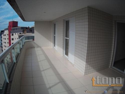 ref.: 3264 - apartamento em praia grande, no bairro guilhermina - 4 dormitórios
