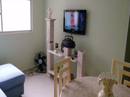 ref.: 3265 - apartamento em praia grande, no bairro canto do forte - 1 dormitórios