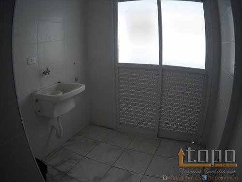 ref.: 3276 - apartamento em praia grande, no bairro guilhermina - 2 dormitórios