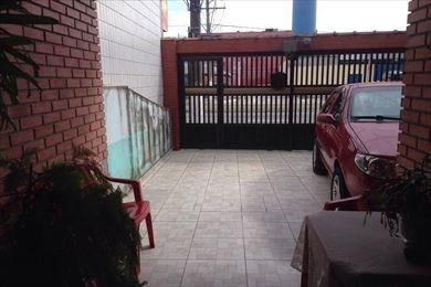 ref.: 3279 - casa em praia grande, no bairro guilhermina - 2 dormitórios