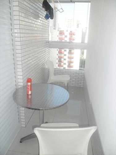ref.: 3287 - apartamento em praia grande, no bairro boqueirao - 3 dormitórios