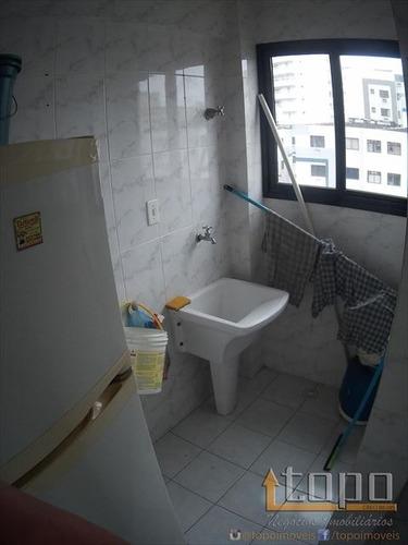 ref.: 3300 - apartamento em praia grande, no bairro boqueirao - 2 dormitórios