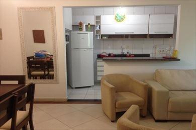 ref.: 3300 - apartamento em praia grande, no bairro canto do forte - 2 dormitórios