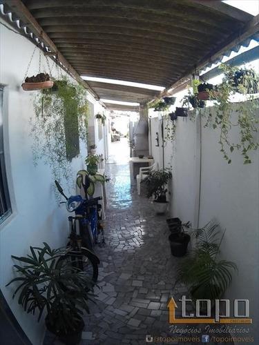 ref.: 3301 - casa em praia grande, no bairro gloria - 2 dormitórios