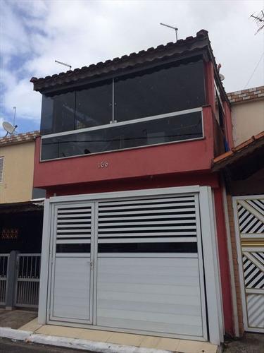 ref.: 3302 - casa em praia grande, no bairro nova mirim - 2 dormitórios