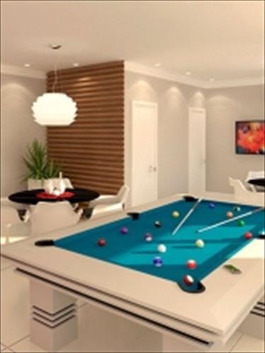 ref.: 3327 - apartamento em praia grande, no bairro ocian - 2 dormitórios