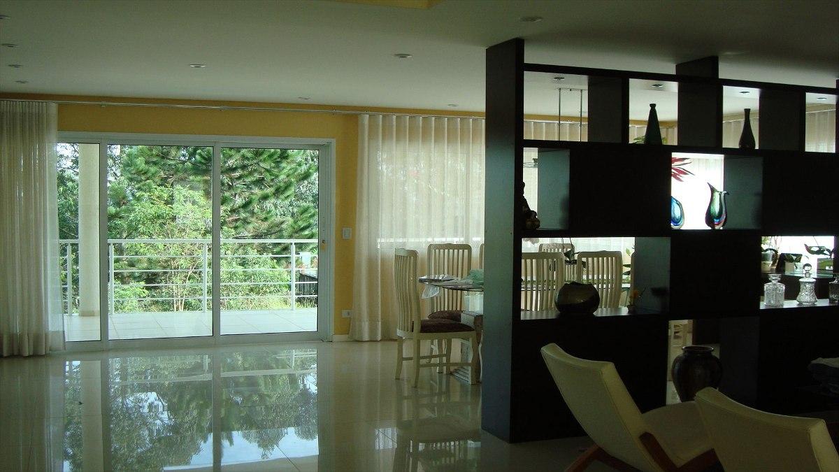 ref.: 3329 - casa condomínio fechado em embu das artes, no bairro parque das artes - 4 dormitórios