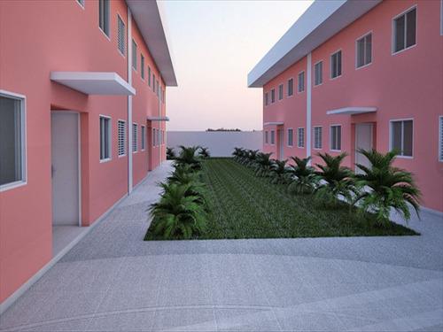 ref.: 333 - casa condomínio fechado em bertioga, no bairro boraceia - 2 dormitórios