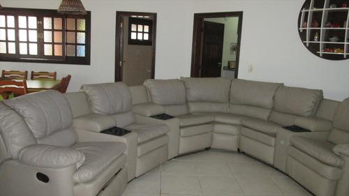 ref.: 333 - casa em itanhaém, no bairro cibratel ii - 5 dormitórios