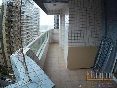 ref.: 3331 - apartamento em praia grande, no bairro canto do forte - 2 dormitórios
