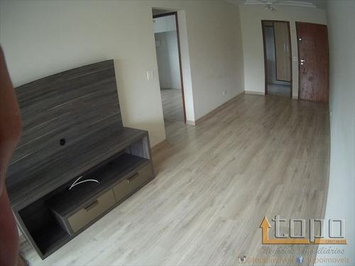ref.: 3332 - apartamento em praia grande, no bairro canto do forte - 2 dormitórios