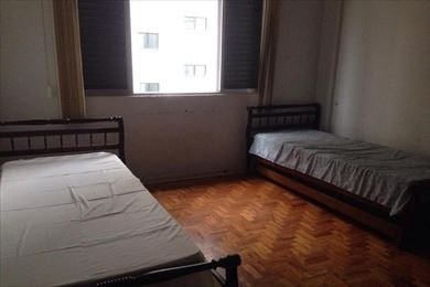 ref.: 3334 - apartamento em praia grande, no bairro canto do forte - 1 dormitórios