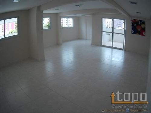 ref.: 3337 - apartamento em praia grande, no bairro canto do forte - 2 dormitórios