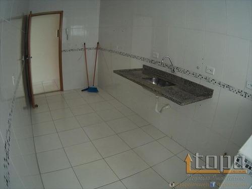 ref.: 3338 - apartamento em praia grande, no bairro boqueirao - 2 dormitórios