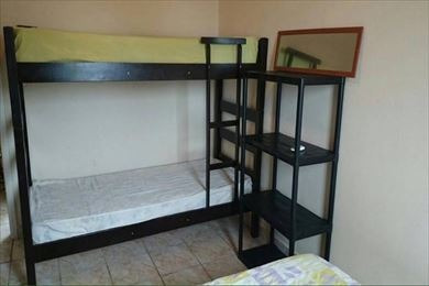 ref.: 3338 - apartamento em praia grande, no bairro guilhermina - 1 dormitórios